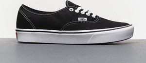 Czarne buty męskie vans authentic, kolekcja wiosna 2020