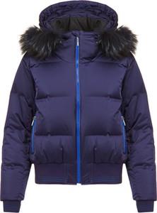 Granatowa kurtka Descente w stylu casual