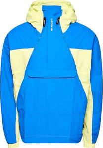 Niebieska kurtka Adidas krótka