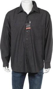 Czarna koszula ARROW w stylu casual z klasycznym kołnierzykiem