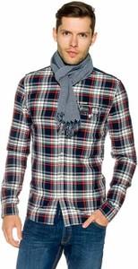 Koszula Guess z włoskim kołnierzykiem z długim rękawem