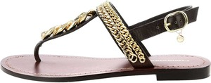 Sandały Prima Moda z klamrami z płaską podeszwą