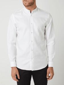 Koszula Selected Homme z długim rękawem ze stójką z bawełny