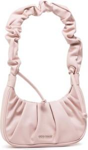Różowa torebka Gino Rossi ze skóry