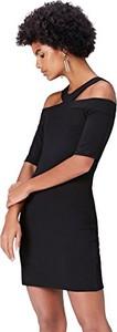 Sukienka Find midi dopasowana z krótkim rękawem