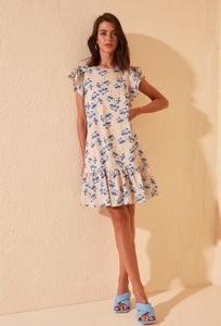 Sukienka Trendyol z krótkim rękawem mini