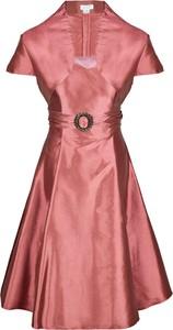 Sukienka Fokus rozkloszowana z tiulu