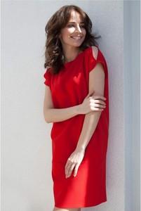 Czerwona sukienka butik-choice.pl mini
