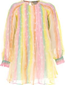 Sukienka dziewczęca Stella McCartney z jedwabiu