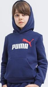 Granatowa bluza Puma w młodzieżowym stylu