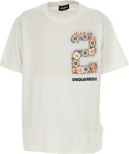 Bluzka dziecięca Dsquared2 z bawełny