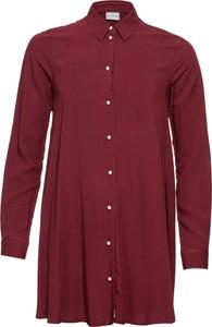Fioletowa koszula bonprix BODYFLIRT z długim rękawem