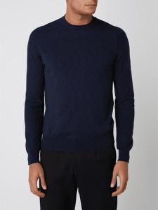 Sweter Hugo Boss z okrągłym dekoltem