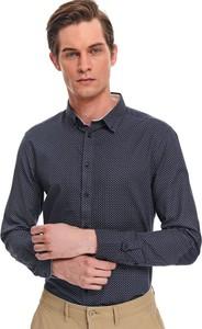 Koszula Top Secret z długim rękawem z bawełny