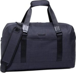 Granatowa torba podróżna Lanetti