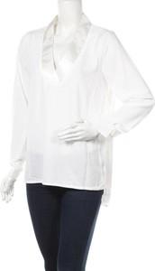 Bluzka Lm z długim rękawem z dekoltem w kształcie litery v