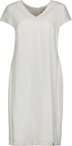 Sukienka Lavard z krótkim rękawem z dekoltem w kształcie litery v z tkaniny