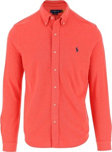 Czerwona koszula Ralph Lauren z długim rękawem