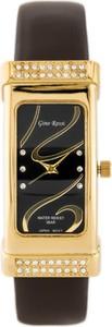 GINO ROSSI - 7459A (zg754f) - Złoty || Brązowy