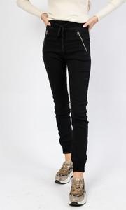 Czarne spodnie Olika w sportowym stylu