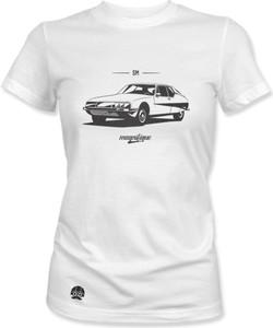 T-shirt sklep.klasykami.pl w młodzieżowym stylu z krótkim rękawem