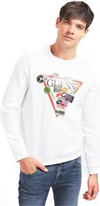 Sweter Guess z bawełny w młodzieżowym stylu