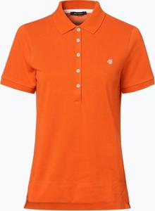 T-shirt Marc O'Polo z krótkim rękawem w sportowym stylu z kołnierzykiem
