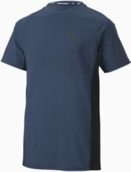Niebieska koszulka dziecięca Puma z krótkim rękawem