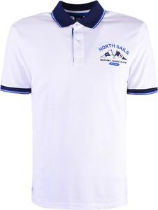 Koszulka polo ubierzsie.com w sportowym stylu z bawełny z krótkim rękawem