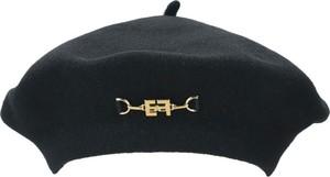Czarna czapka Elisabetta Franchi