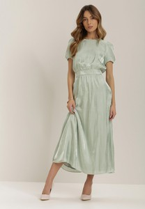 Sukienka Renee z okrągłym dekoltem maxi