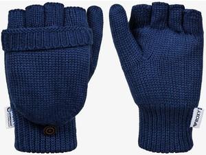 Niebieskie rękawiczki Roxy