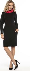 dd1e61b490 sukienki czarne rozmiar 48 - stylowo i modnie z Allani