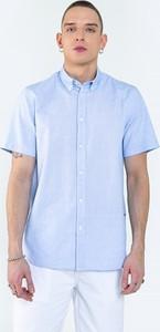 Koszula Big Star z krótkim rękawem z tkaniny w stylu casual