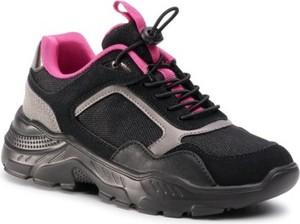 Czarne buty sportowe dziecięce Sprandi