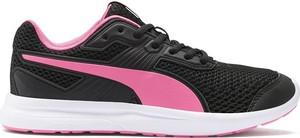 Czarne buty sportowe Puma z płaską podeszwą