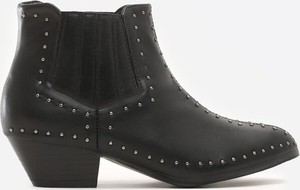 Czarne botki Multu w stylu casual