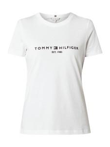 Bluzka Tommy Hilfiger z okrągłym dekoltem