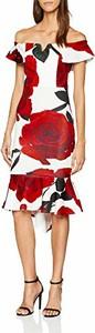 Sukienka amazon.de hiszpanka z krótkim rękawem