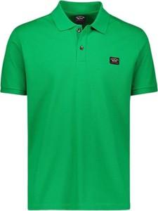 Zielona koszulka polo Paul & Shark