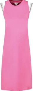 Sukienka Calvin Klein midi bez rękawów