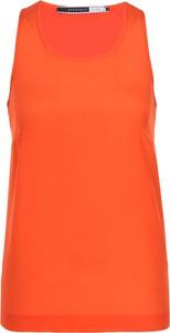 Bluzka Sportmax Code z jedwabiu z okrągłym dekoltem w stylu casual