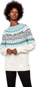 Sweter Pepe Jeans w stylu casual w stylu skandynawskim