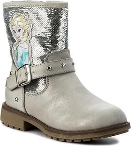 Buty dziecięce zimowe Disney Frozen na zamek