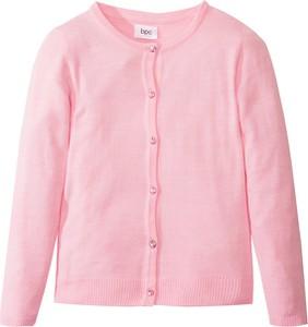 Różowy sweter bonprix bpc bonprix collection