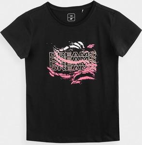 Koszulka dziecięca 4F z dzianiny