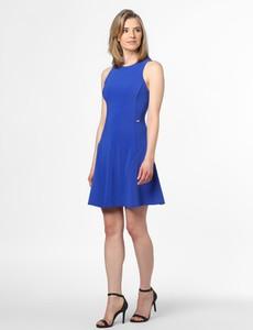 Sukienka Armani Exchange mini z okrągłym dekoltem