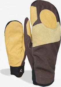 Brązowe rękawiczki Level