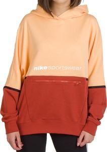Bluza Nike z bawełny krótka w sportowym stylu