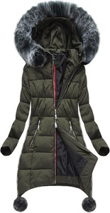 Szara kurtka g-stone bez wzorów z poliestru